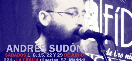 Crónica de Luis Remacha sobre el concierto de Andrés Sudón en La Fídula